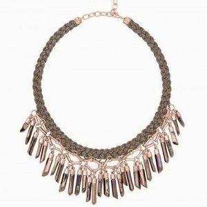 Stella & Dot Bora Fringe Necklace